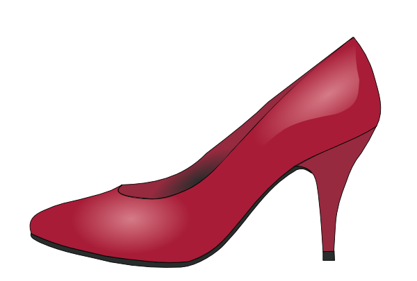 free vector High Heels Red Shoe clip art