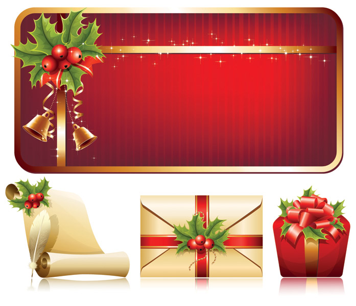 free vector High quality christmas element vector