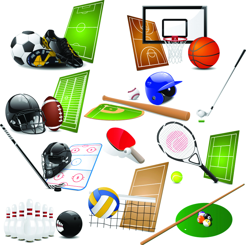 free vector High Quality Sports Vector