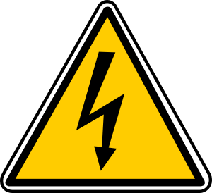 free vector High Tension Danger clip art
