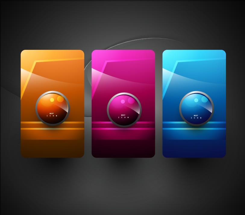 free vector High texture icon 03 vector