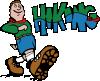 free vector Hiker Hiking clip art