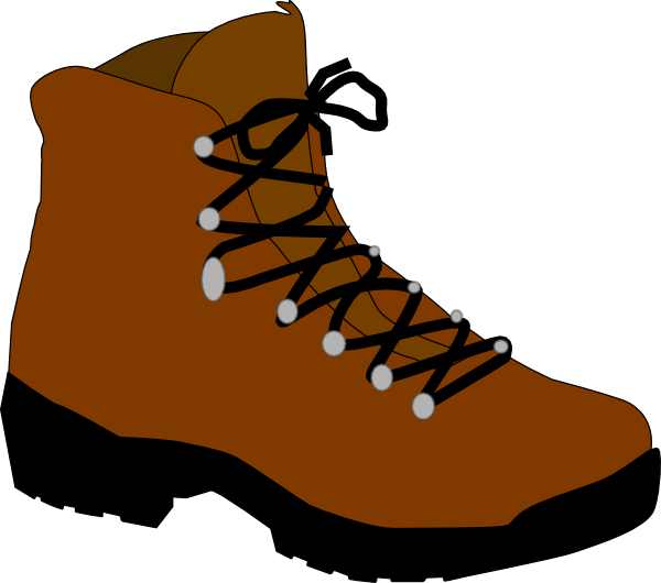 free vector Hiking Boot clip art