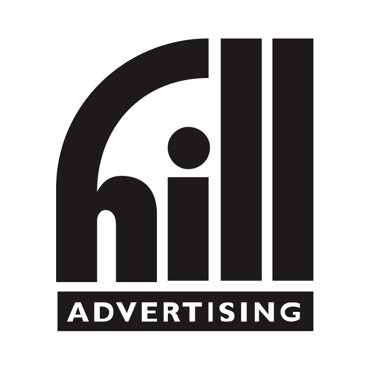 free vector Hill advertising