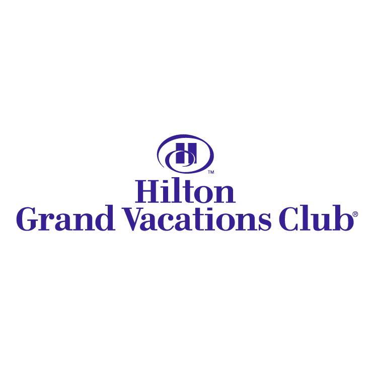 free vector Hilton grand vacations club