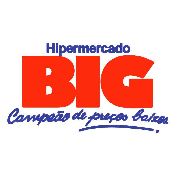 free vector Hipermercado big
