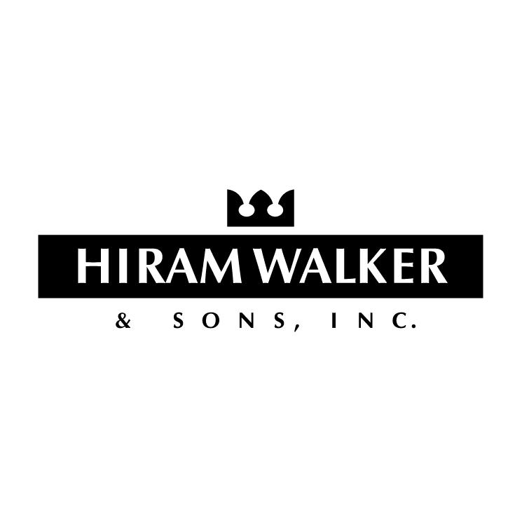 free vector Hiram walker sons