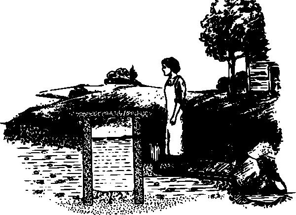 free vector Historic Well Diagram clip art