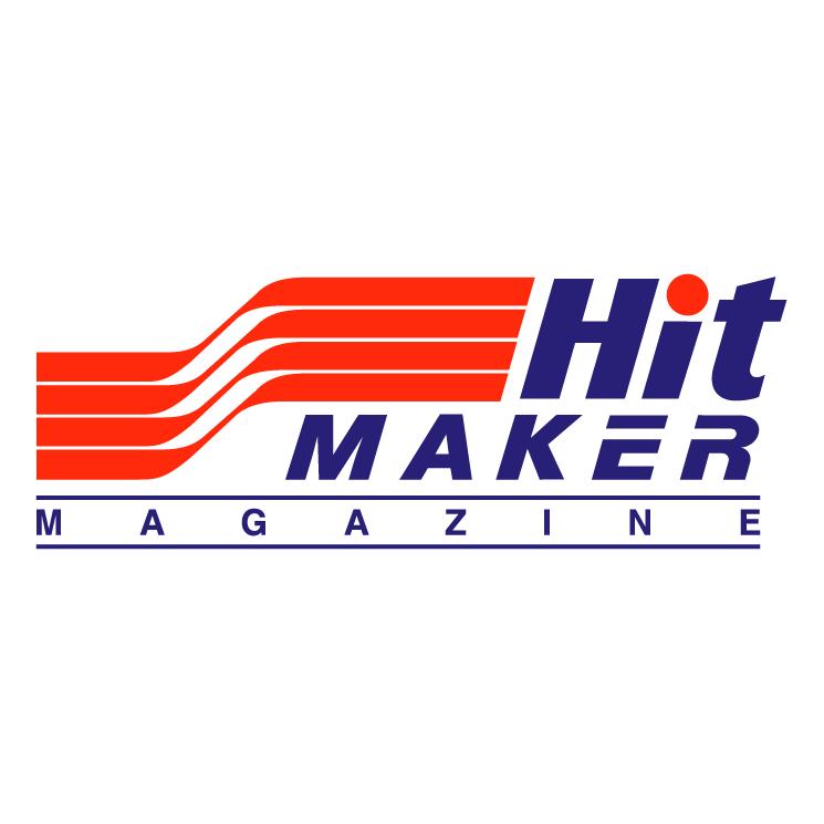 free vector Hitmaker magazine