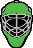 free vector Hockey Baseball Racer Mask clip art