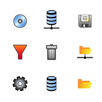 free vector Hodgepodge icon vector