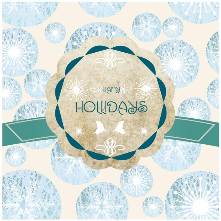 free vector Holiday frame