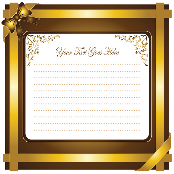 free vector Holiday greeting card vector