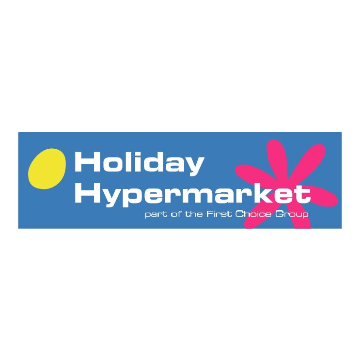free vector Holiday hypermarket