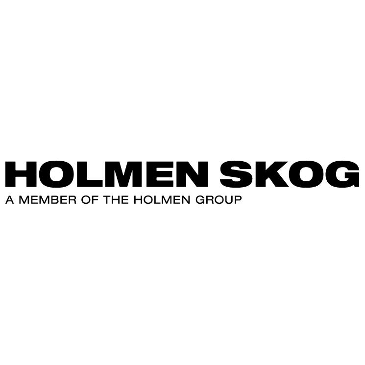 free vector Holmen skog