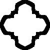 free vector Holy Greek Cross clip art