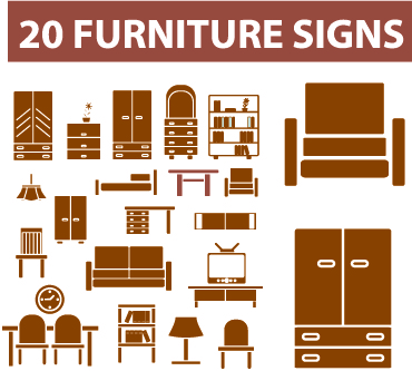 free vector Home furniture clip art