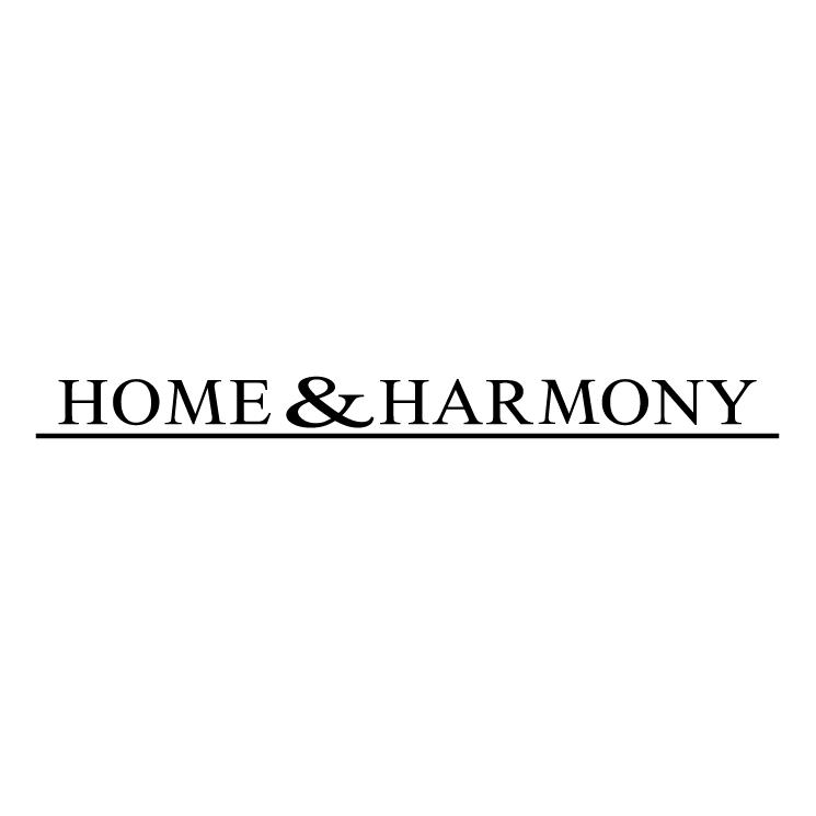 free vector Home harmony