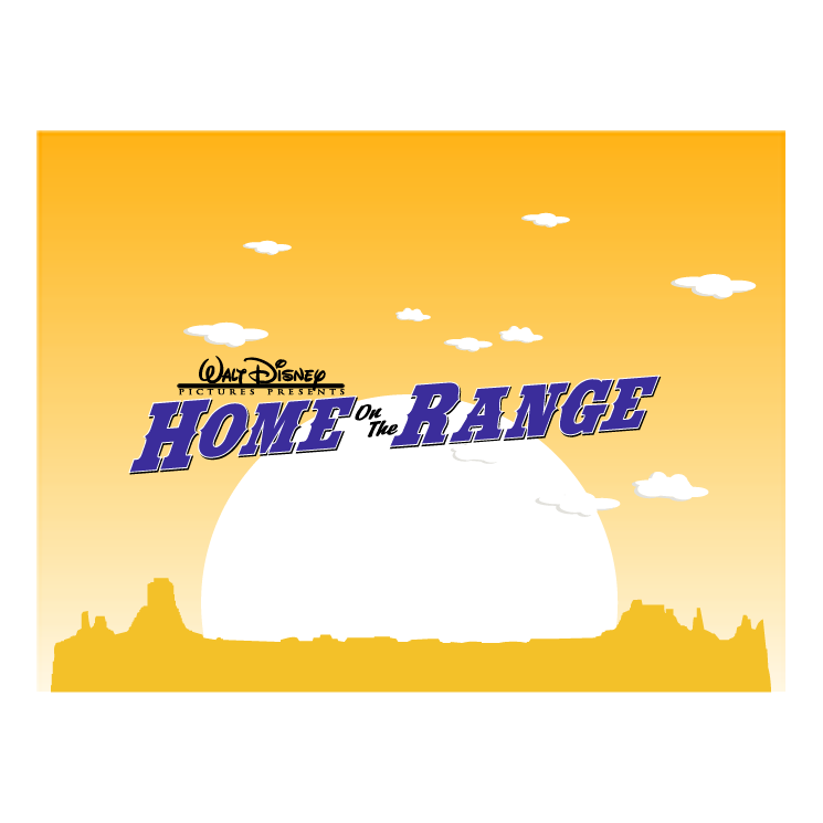 free vector Home on the range