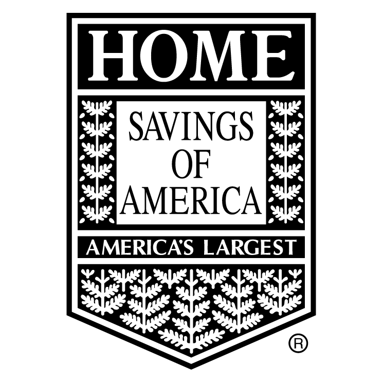 free vector Home savings of america 0