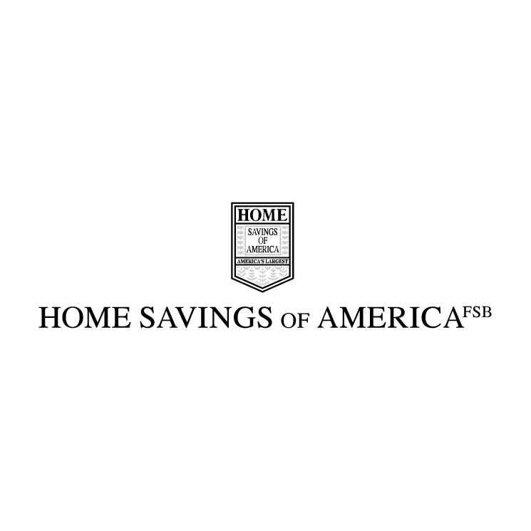 free vector Home savings of america