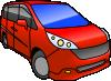 free vector Honda Step Wagon clip art