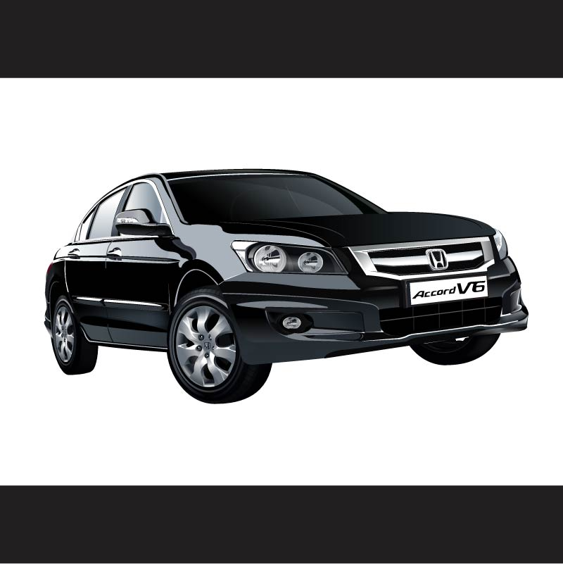 free vector Honda V6 Vector
