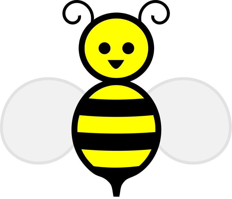 free vector Honey bee