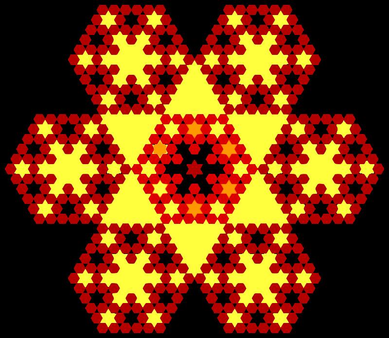free vector Honeycomb flakes