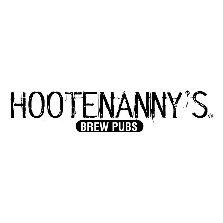 free vector Hootenannys brew pubs