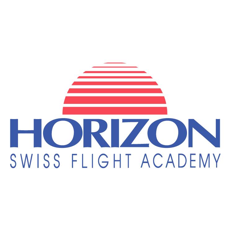 free vector Horizon swiss flight academy