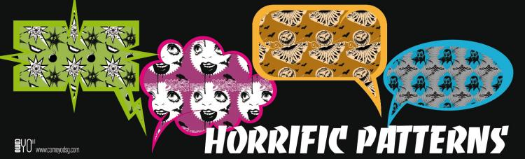 free vector Horrific Pattern Vectors