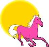 free vector Horse#1 clip art