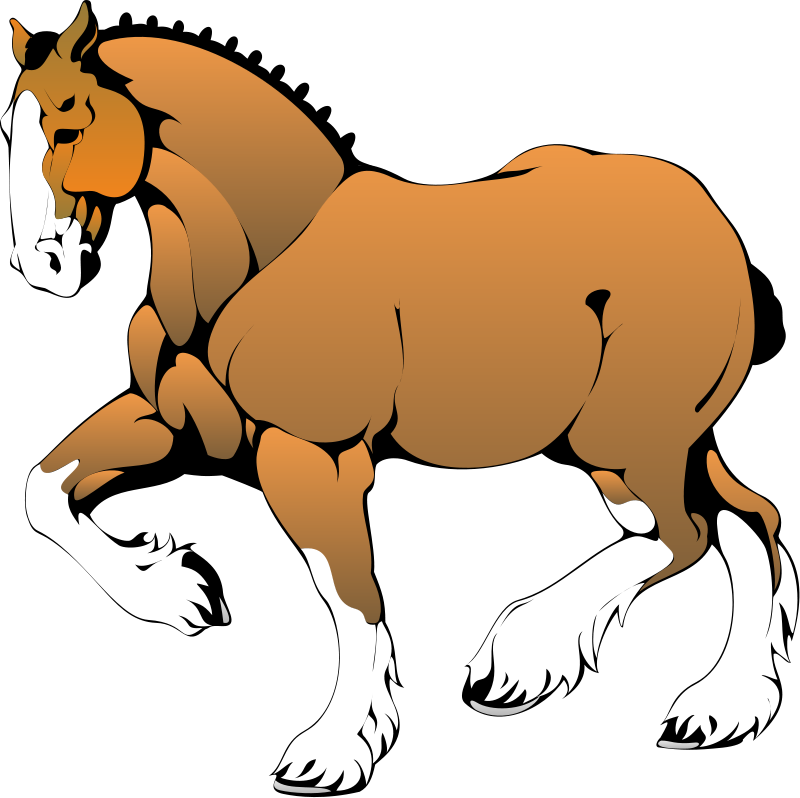 free vector Horse 2