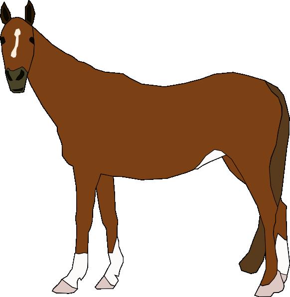 horse clip art free vector 4vector rh 4vector com vector horseshoe vector horse silhouette