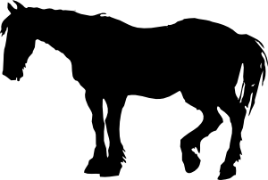 free vector Horse Silhouette clip art