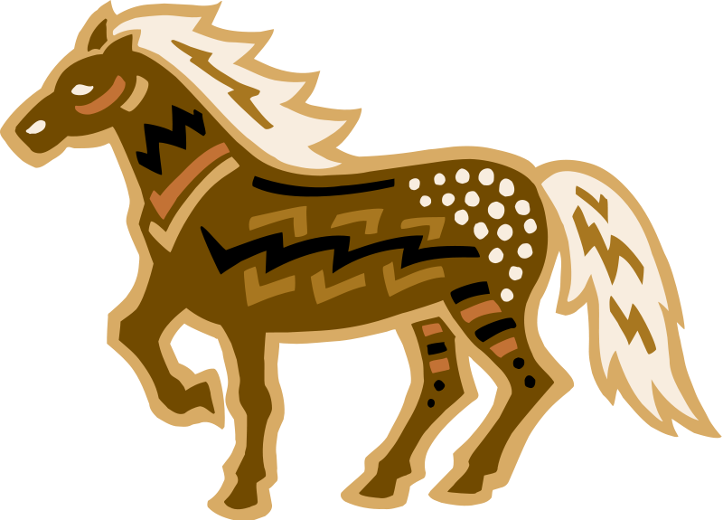 free vector Horse