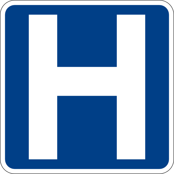 free vector Hospital Sign clip art