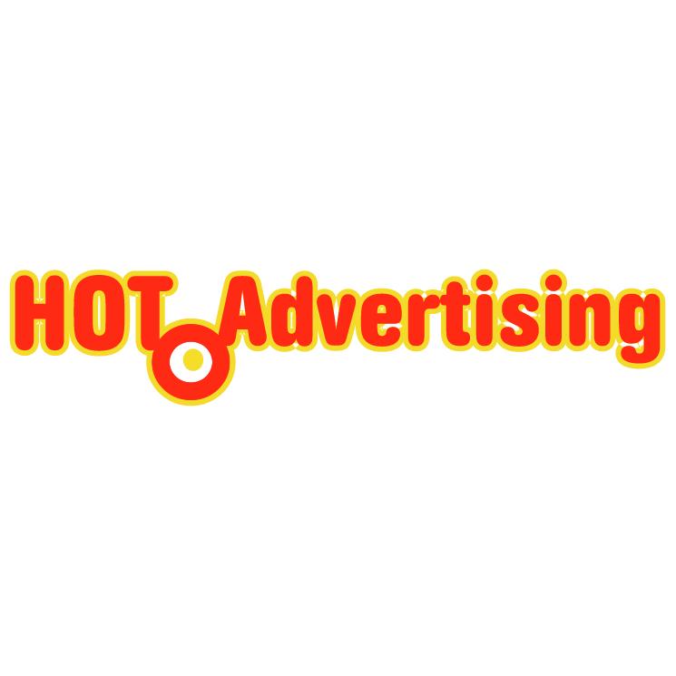 free vector Hot advertising