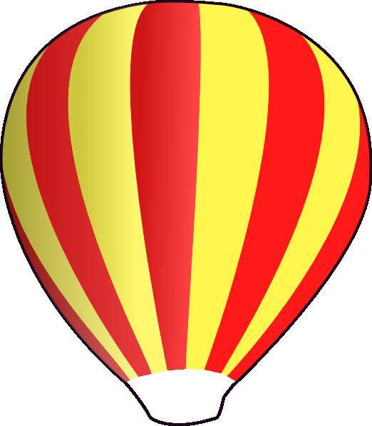 free vector Hot Air Ballon clip art