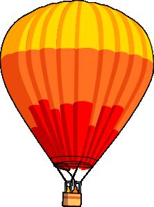 free vector Hot Air Balloon clip art