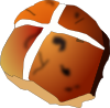 free vector Hot Cross Bun clip art