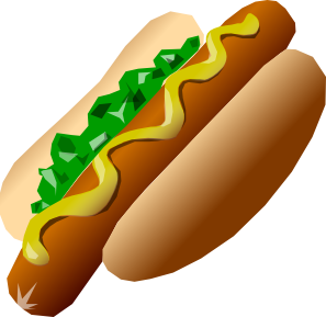free vector Hot_dog clip art