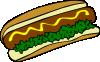 free vector Hot Dog clip art