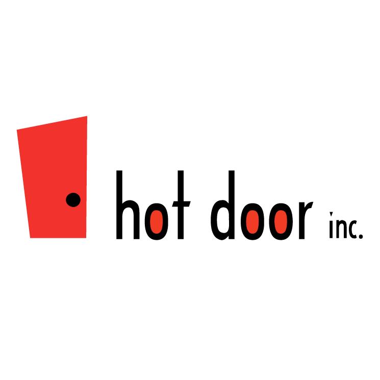 free vector Hot door