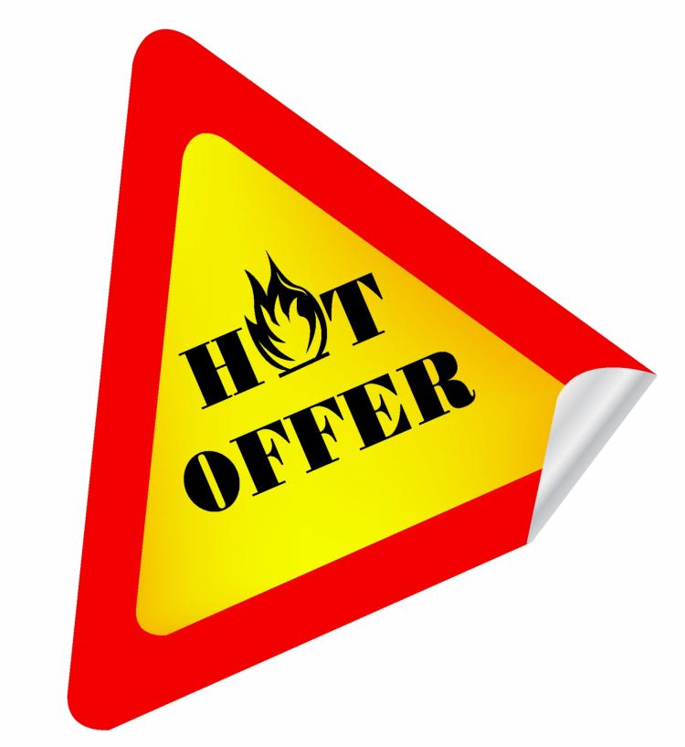 free vector Hot offer