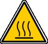 free vector Hot Surface Danger clip art