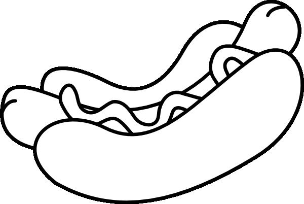 free vector Hotdog clip art