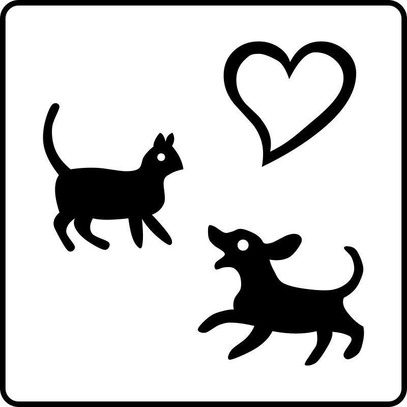 free vector Hotel Icon Allows Pets