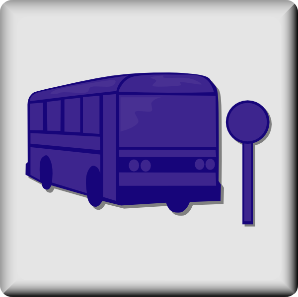free vector Hotel Icon Bus Stop clip art